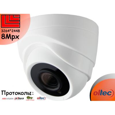 Камера внутренняя 8 Mpx AHD TVI CVI 8 Мпкс