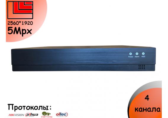 Видерегистратор 4 канала DVR 44 до 2Mpx